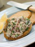 Cornish Smoked Mackerel Pate with Oatmeal Biscuits