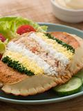 Dressed Cromer Crab with Lemon Mayonnaise