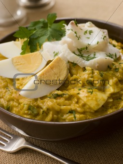 Bowl of Smoked Haddock Kedgeree
