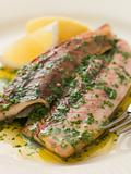 Loch Fyne Kippers Grilled with Parsley Butter