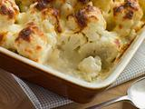 Serving of Cauliflower Cheese