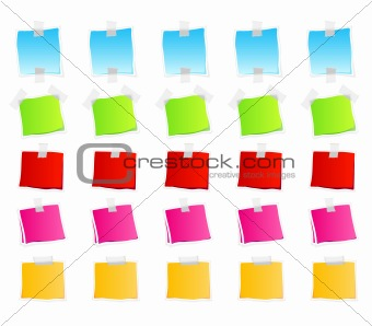 Sticky retail notes