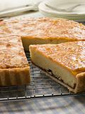 Slice of Bakewell Tart