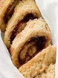 Jam Roly Poly in Muslin
