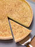 Egg Custard Tart With Nutmeg