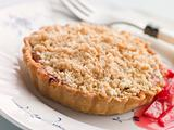 Rhubarb Crumble Tart