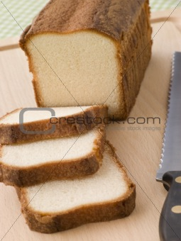 Slices of Maderia Cake