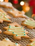 Christmas Tree Biscuits