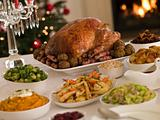 Christmas Roast Turkey with all the Trimmings