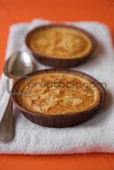 Apple & almond tarts