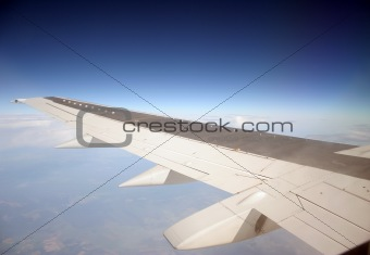 Flight by the plane
