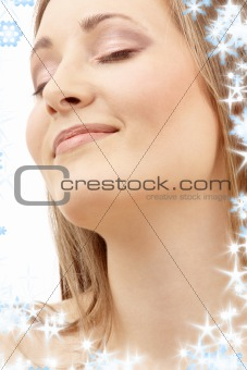 bright picture of smiling woman