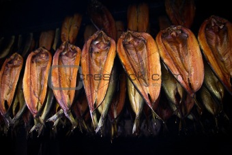 Smoked kippers