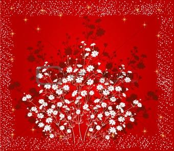 Floral Background - vector illustration