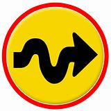 Traffic sign  icon 2