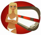 Tanning Bed - Blonde