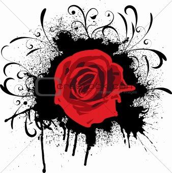 Grune rose