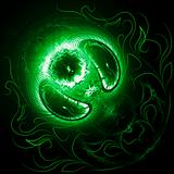 Mystic green planet