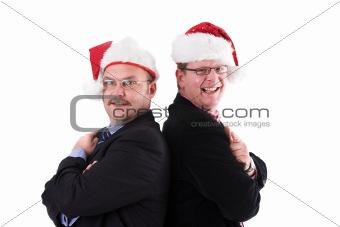 Santa's business helpers