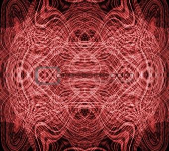 fractal red