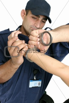 Arrested and Handcuffed