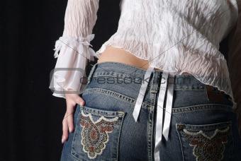 backside of woman