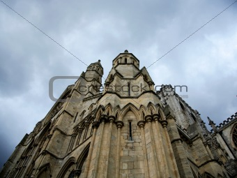 Architectural detail York Minster