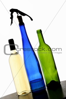Backlit Bottles
