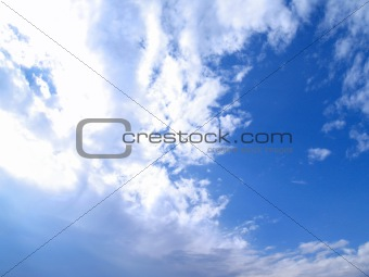 """Skies"": Late-Morning Blue Sky and Dynamic Clouds"