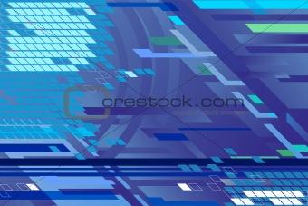 Blue backround