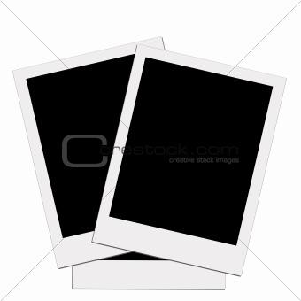 Blank polaroid 01