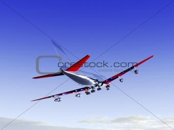 Plane Flying 28