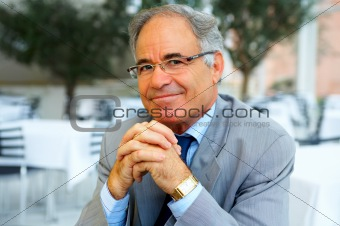 Portrait of a older Businessman