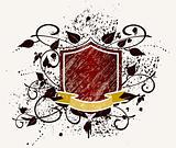 Grunge Armory vintage emblem