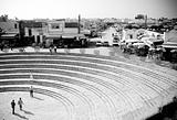 el-jem coliseum stairway tunisia