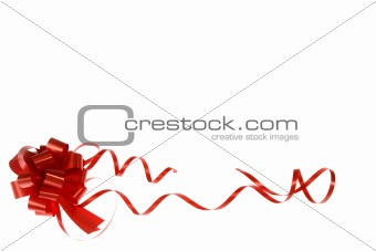 bow, ribbon, decoration, valentine, backgrounds, line, glossy