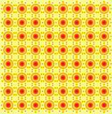 Fresh Vibrant Orange Pattern