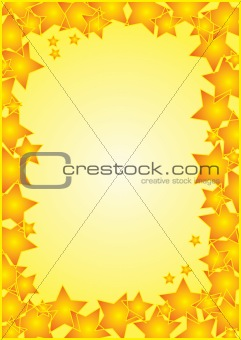 Frame With Stars Border