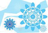 Graphic Flower Pattern