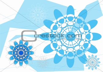 Graphic Flower Pattern