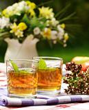 Herbal tea - outdoor dining