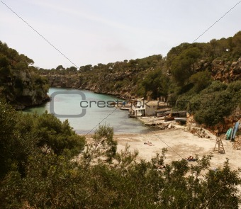 Bay of Cala Pi, Mallorca, Spain