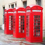 3 phone boxes
