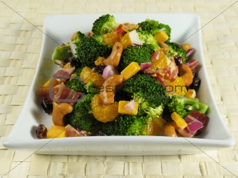 Broccoli Salad Plate