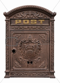 Antique postbox
