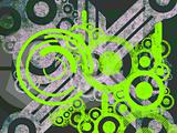 Bright Green Environmental Machine Parts