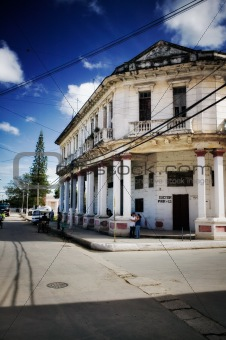 Old Cuban Building, Street