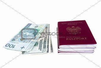 Money and passports