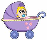 Baby in buggy