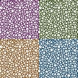 Repeating Circle Pattern Background